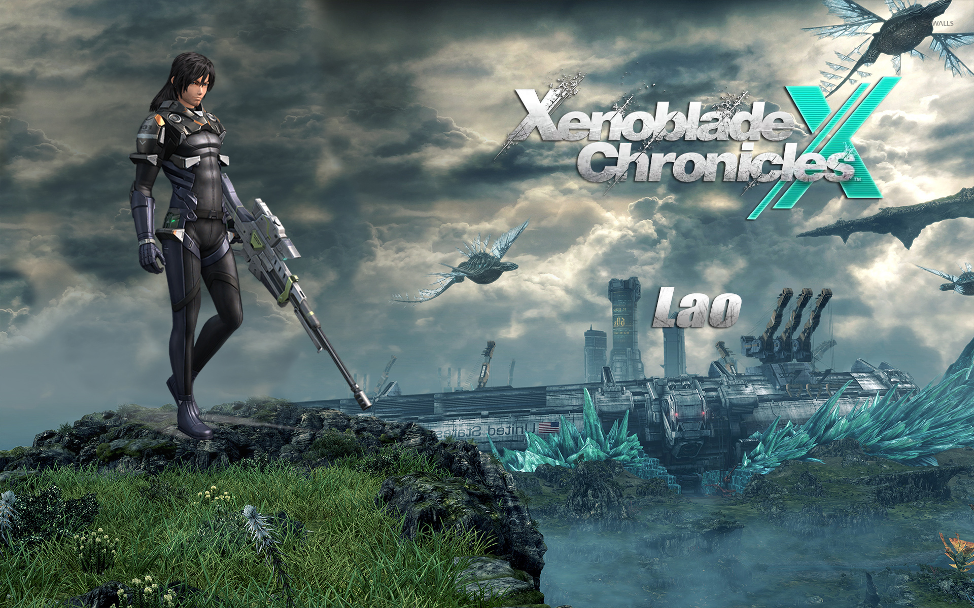 Lao Xenoblade Chronicles X Wallpaper Game Wallpapers