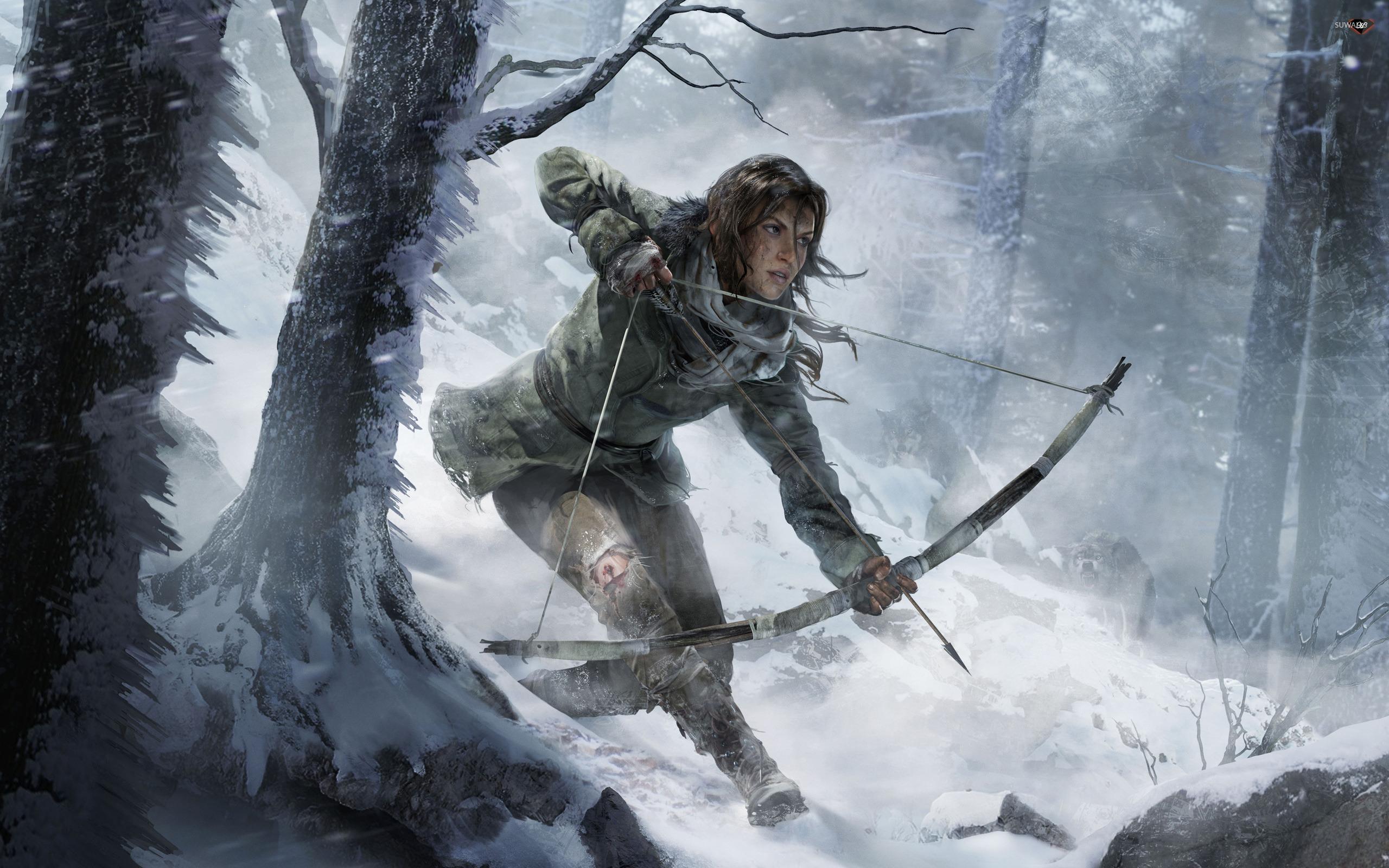 Lara Croft Rise Of The Tomb Raider Wallpaper Game Wallpapers