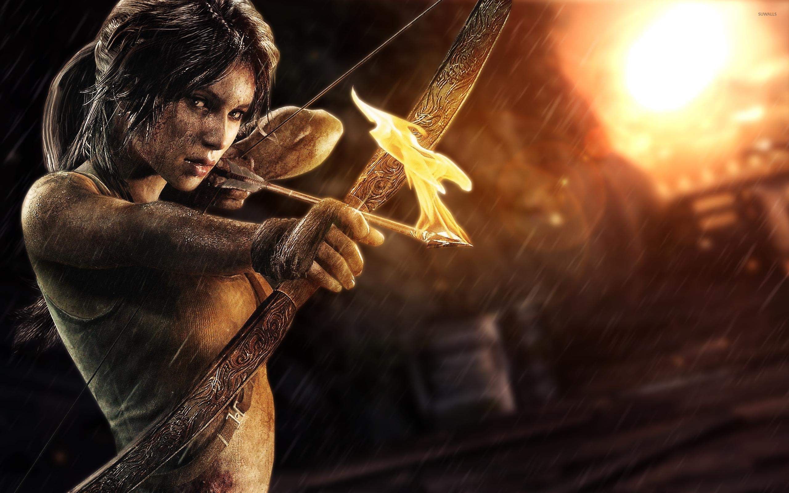 Lara Croft Rise Of The Tomb Raider 5 Wallpaper Game