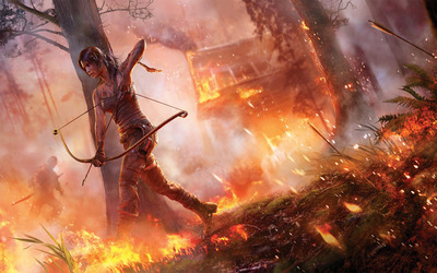 Lara Croft - Rise of the Tomb Raider [6] wallpaper