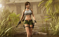 Lara Croft - Tomb Raider wallpaper 1920x1200 jpg
