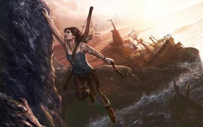Lara Croft - Tomb Raider [4] wallpaper
