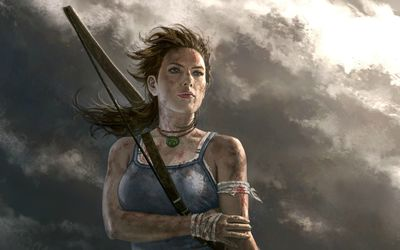 Lara Croft - Tomb Raider [10] wallpaper