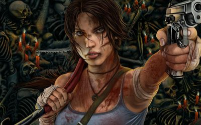 Lara Croft - Tomb Raider [12] wallpaper