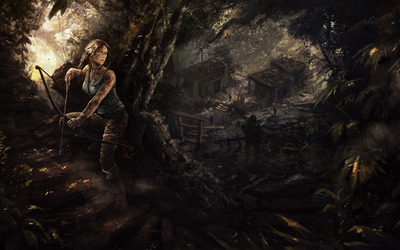 Lara Croft - Tomb Raider [11] wallpaper