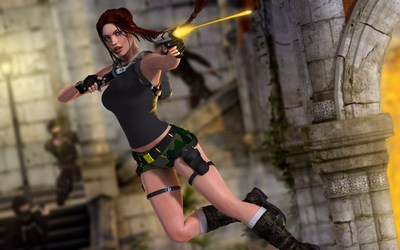 Lara Croft - Tomb Raider [16] wallpaper