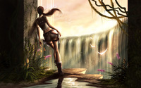 Lara Croft - Tomb Raider [15] wallpaper 1920x1200 jpg