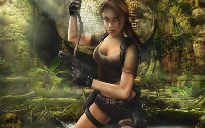 Lara Croft - Tomb Raider: Legend wallpaper