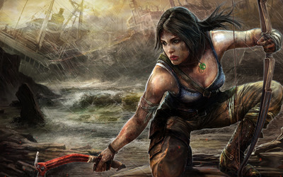 Lara Croft - Tomb Raider: Underworld wallpaper