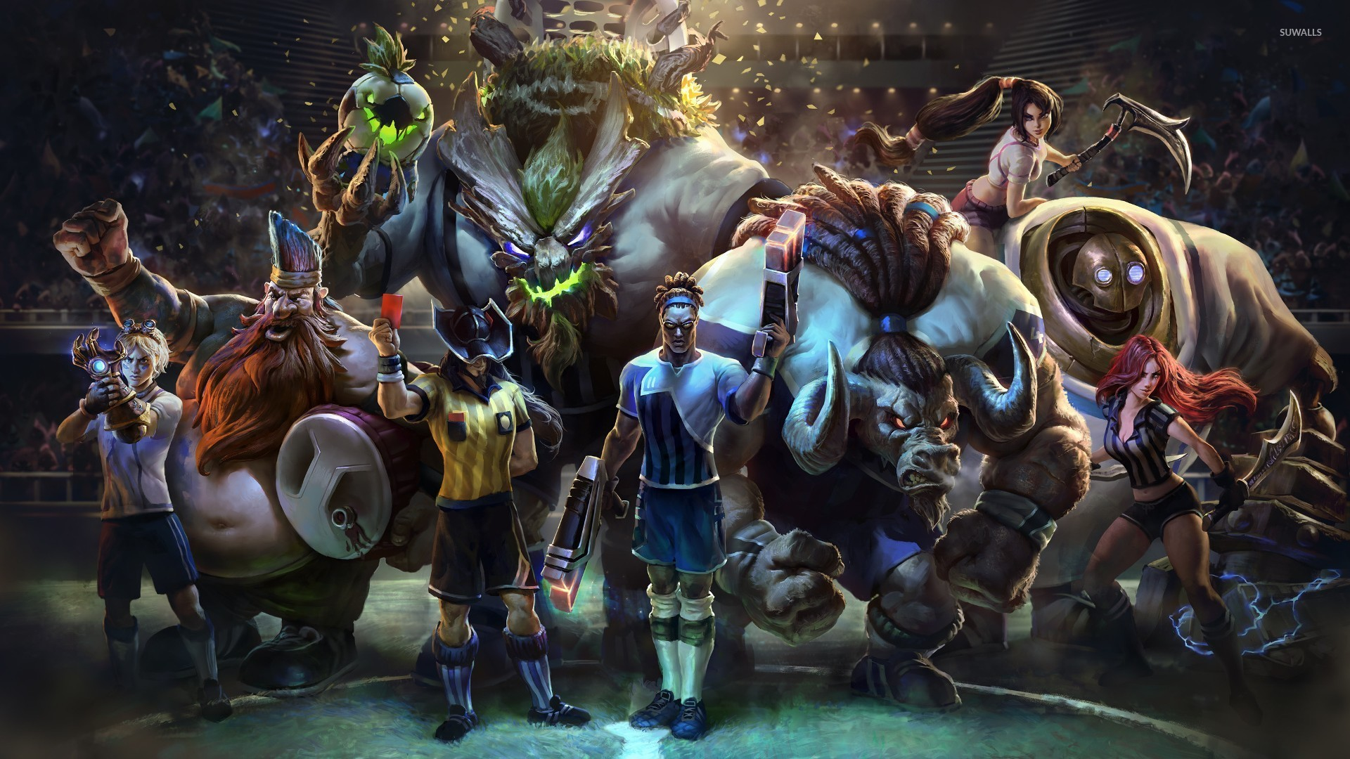 League Of Legends Characters Wallpaper Game Wallpapers 54025