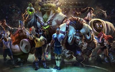 League of Legends characters wallpaper