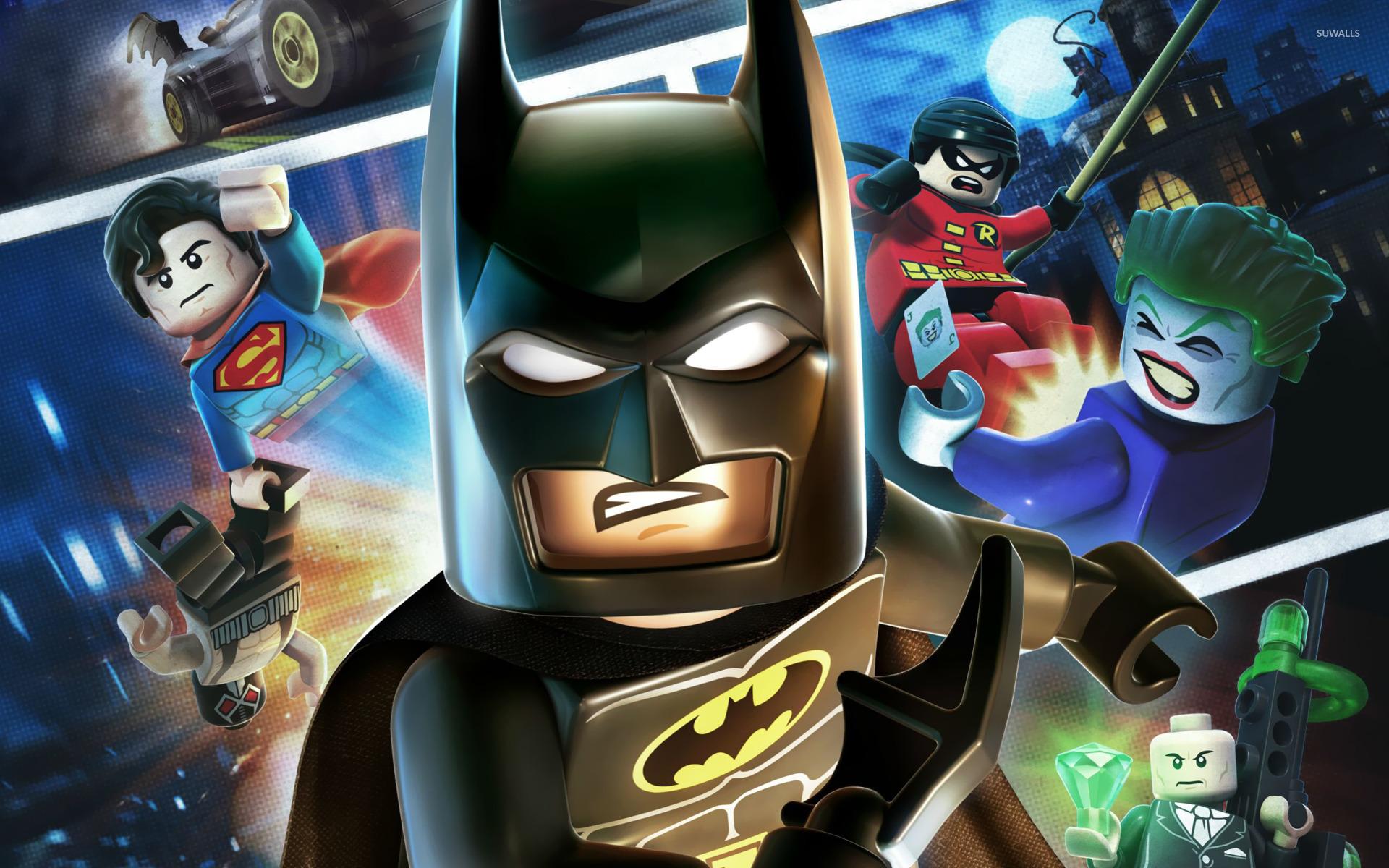Lego Batman 2 Dc Super Heroes Wallpaper Game Wallpapers