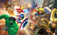 Lego Marvel Super Heroes wallpaper 2880x1800 jpg