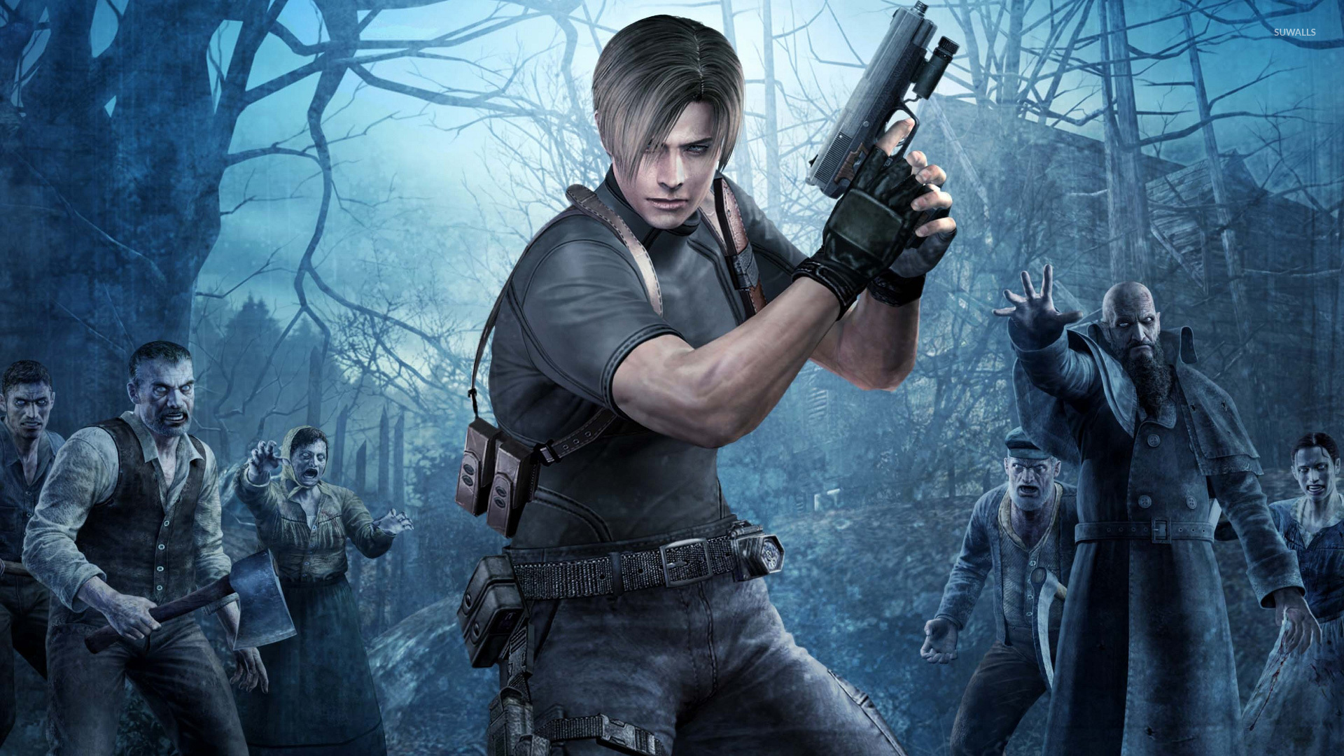 Leon Kennedy Resident Evil 4 Wallpaper Game Wallpapers 20874