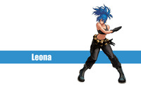 Leona - The King of Fighters wallpaper 2560x1600 jpg
