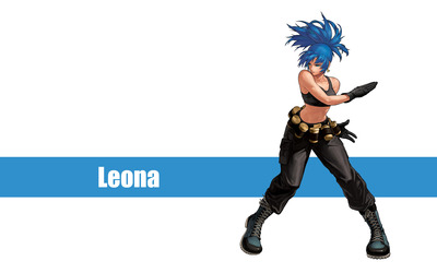 Leona - The King of Fighters wallpaper