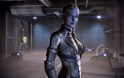 Liara T'Soni from Mass Effect: Redemption wallpaper