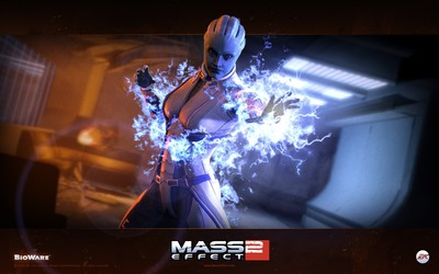 Liara T'Soni - Mass Effect 2 wallpaper