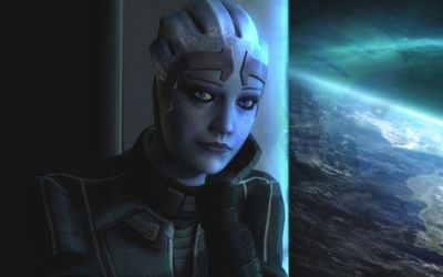 Liara T'Soni - Mass Effect wallpaper