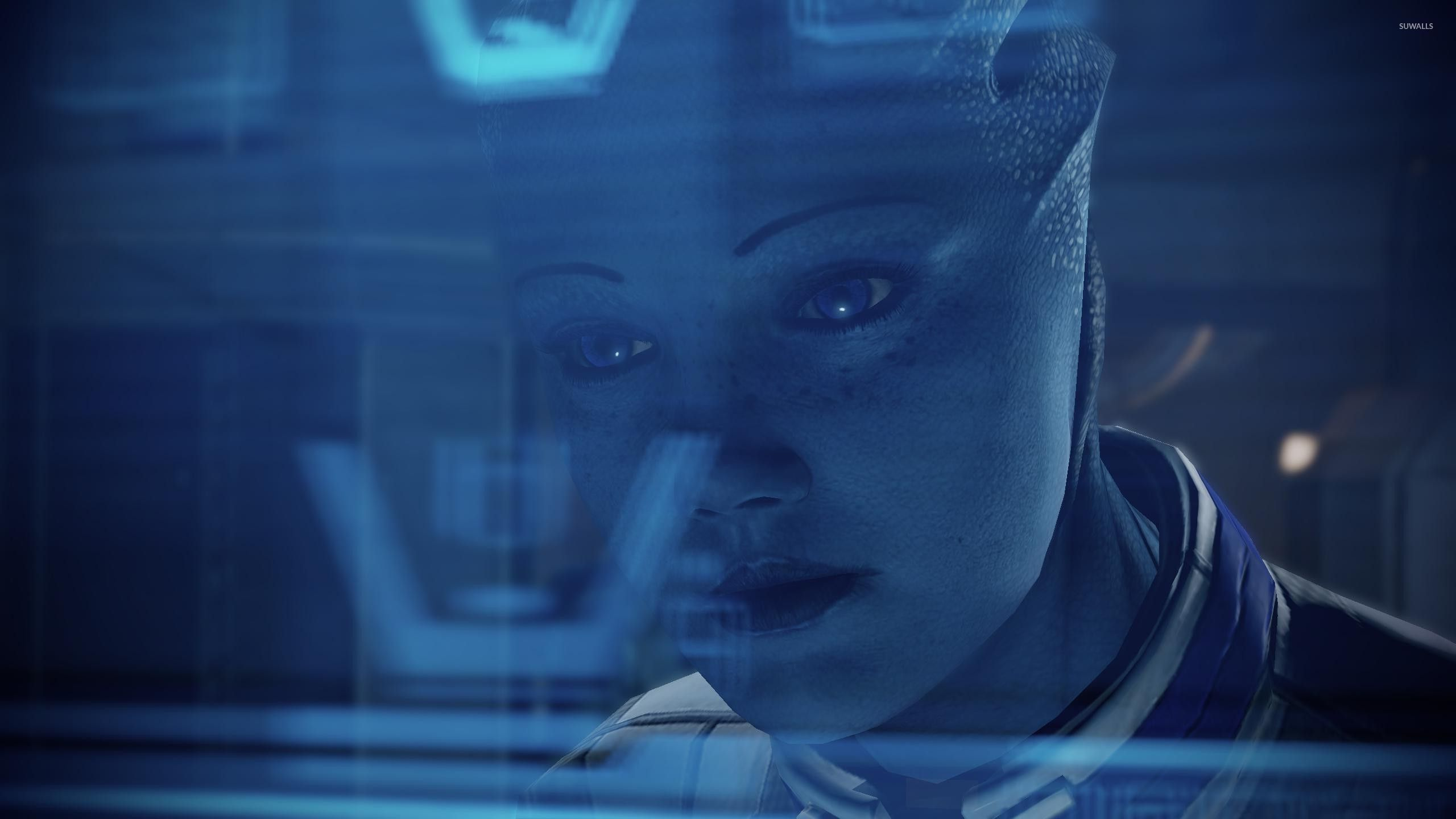 Liara Tsoni Mass Effect 3 Wallpaper Game Wallpapers