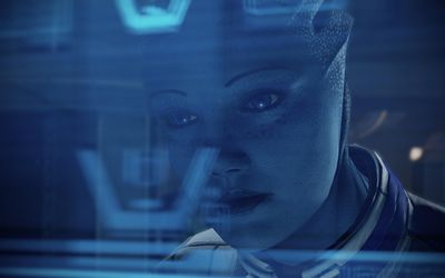 Liara T'Soni - Mass Effect [3] wallpaper