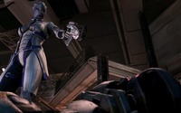 Liara T'Soni - Mass Effect [2] wallpaper 2560x1440 jpg