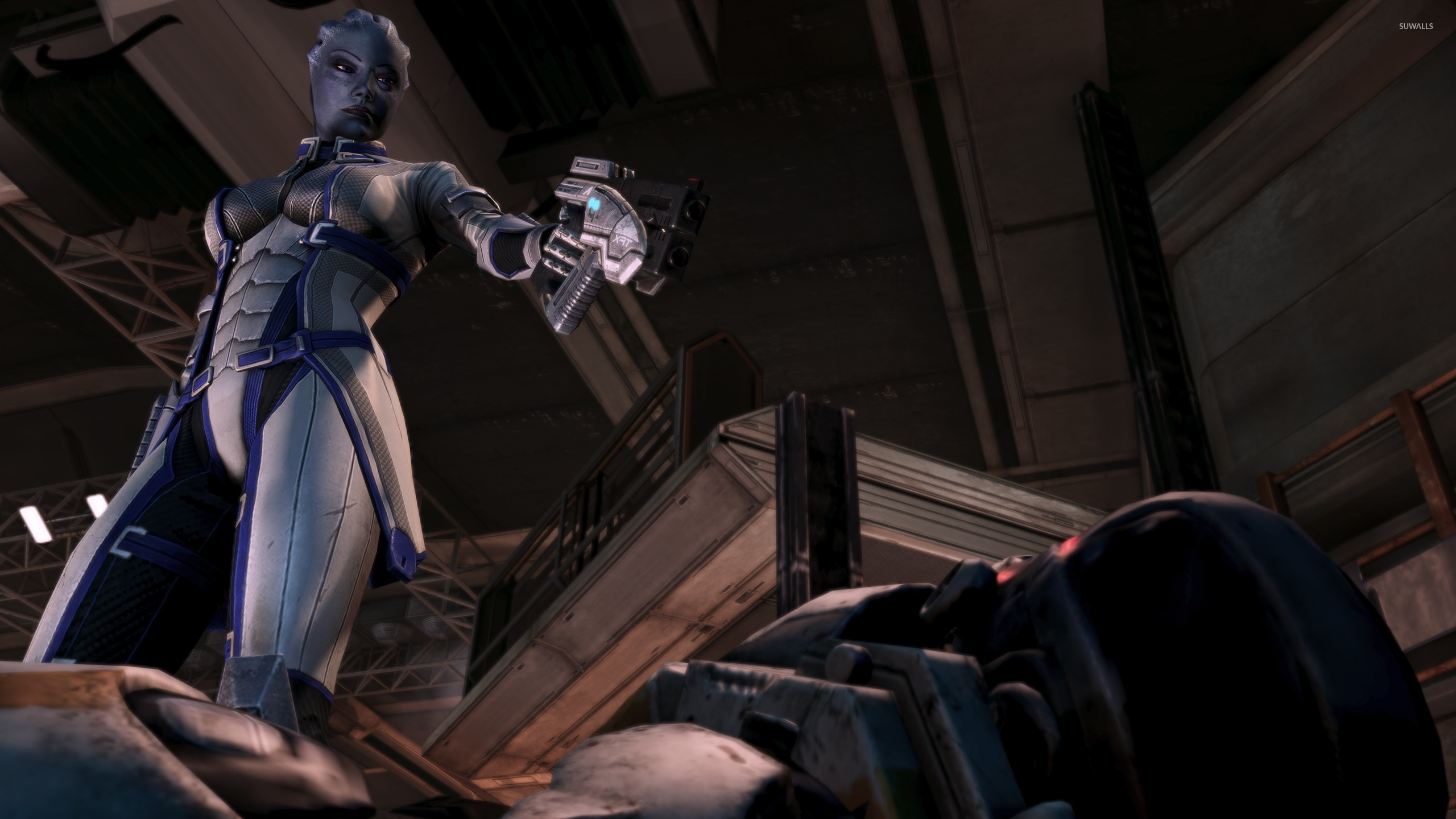 Liara Tsoni Mass Effect 2 Wallpaper Game Wallpapers