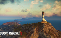 Lighthouse in Medici - Just Cause 3 wallpaper 1920x1080 jpg