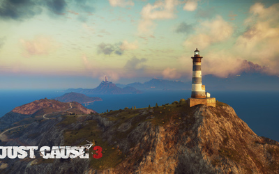 Lighthouse in Medici - Just Cause 3 wallpaper