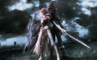 Lightning and Caius - Final Fantasy XIII-2 wallpaper 1920x1080 jpg