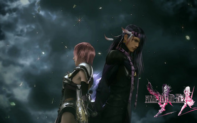 Lightning and Caius - Final Fantasy XIII-2 [3] wallpaper