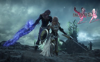 Lightning and Caius - Final Fantasy XIII-2 [2] wallpaper 1920x1080 jpg