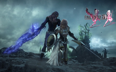 Lightning and Caius - Final Fantasy XIII-2 [2] wallpaper