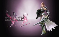 Lightning - Final Fantasy XIII-2 wallpaper 2560x1600 jpg