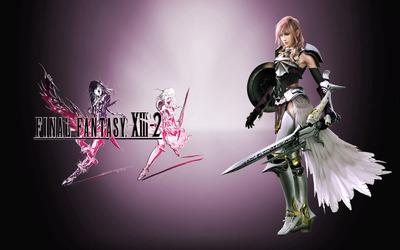 Lightning - Final Fantasy XIII-2 wallpaper