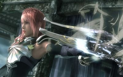 Lightning - Final Fantasy XIII-2 [2] wallpaper
