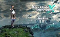 Lin Lee on a cliff - Xenoblade Chronicles X wallpaper 1920x1200 jpg