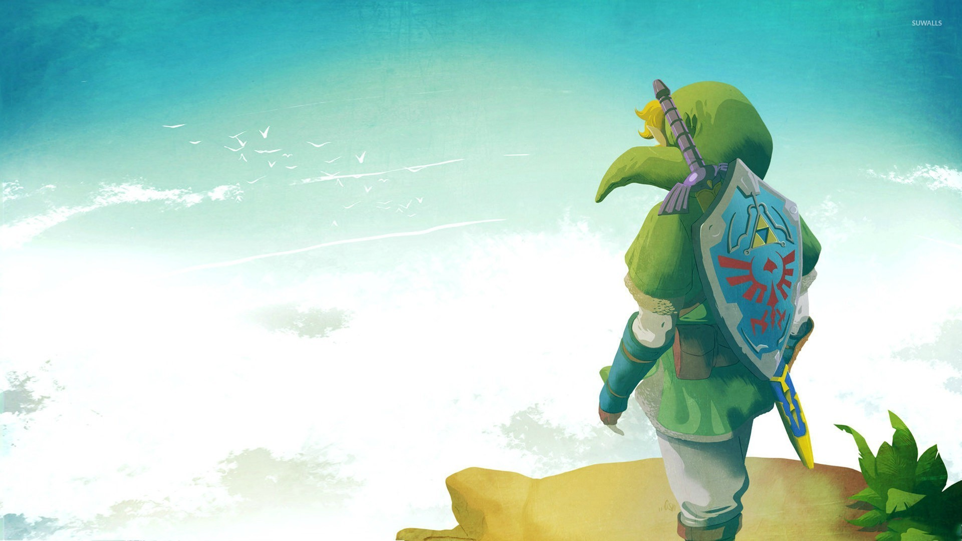 link - the legend of zelda wallpaper - game wallpapers - #24584