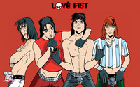 Love Fist heavy metal band wallpaper 2880x1800 jpg