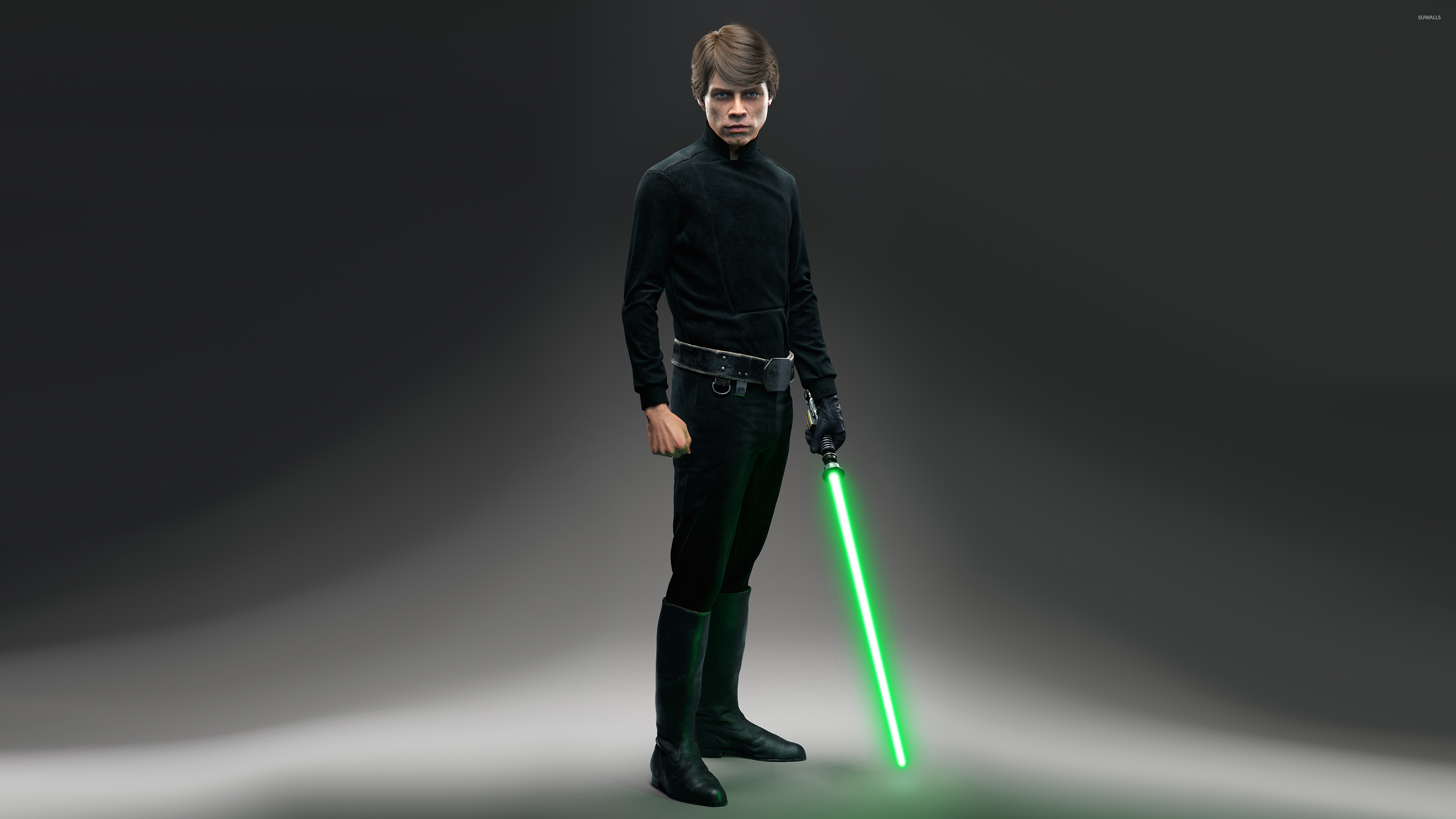 Luke Skywalker Star Wars Battlefront Wallpaper Game Wallpapers