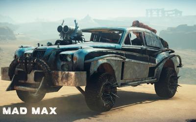 Mad Max car wallpaper