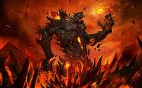 Magma Monster - TinyMonsters wallpaper 1920x1200 jpg