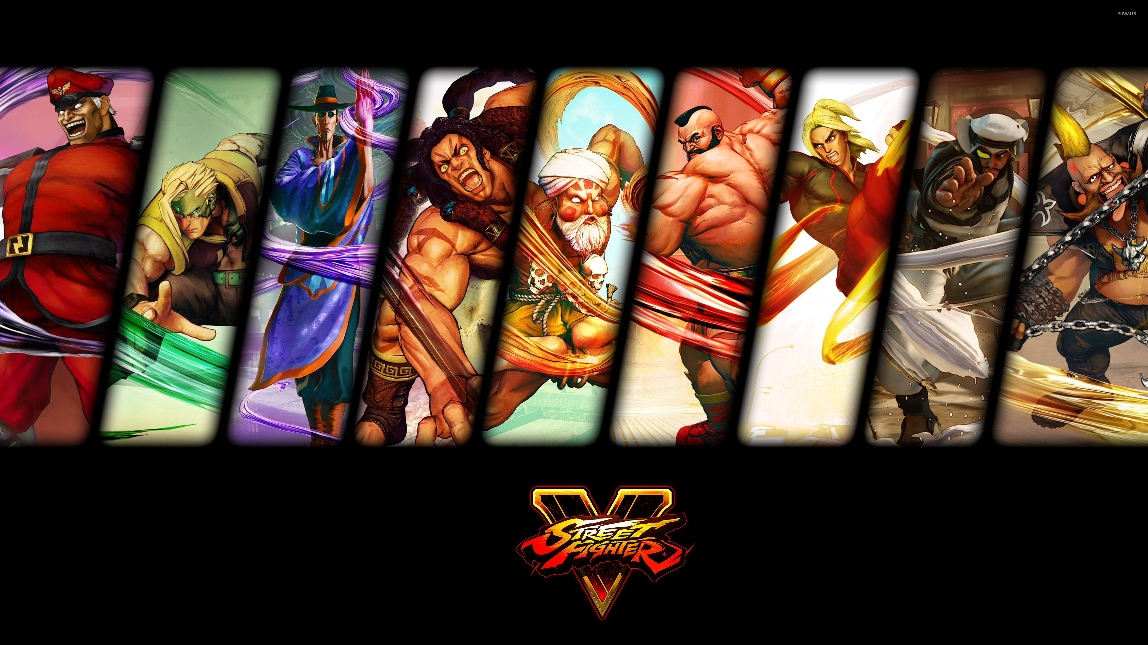 Male Characters From Street Fighter V Wallpaper Game Wallpapers
