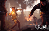 Man with a molotov in Homefront: The Revolution wallpaper 1920x1080 jpg