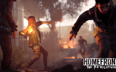Man with a molotov in Homefront: The Revolution Wallpaper