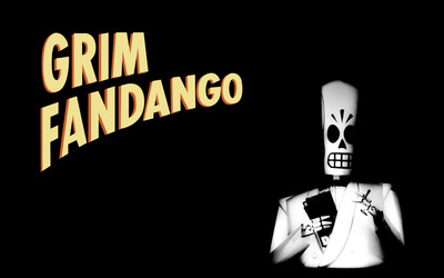 Manny Calevera - Grim Fandango wallpaper