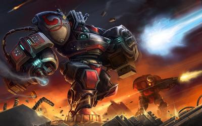 Marauder - StarCraft II wallpaper