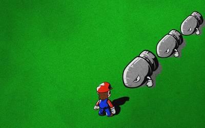 Mario [9] wallpaper