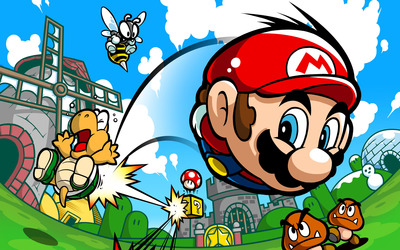 Mario Pinball Land wallpaper