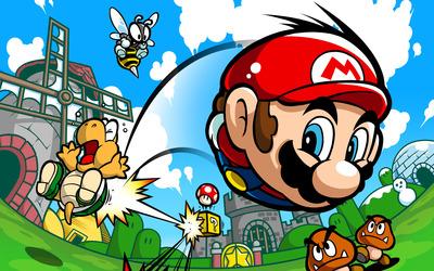 Mario Pinball Land wallpaper